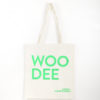 TOTE BAG – Woodee Neon Green