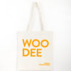 TOTE BAG – Woodee Neon Orange